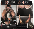 Music Memorabilia:Memorabilia, Ringo Starr Ringo the 4th Floor Display With Original Instructions (1977)....