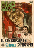 Movie Posters:Horror, The Monster Maker (ENIC, 1946). Folded, Very Fine-.