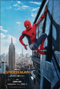 "Movie Posters:Action, Spider-Man: Homecoming (Columbia, 2017). Rolled, Very Fine. One Sheet (27"" X 40"") DS Teaser. Action.. ..."