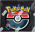 Memorabilia:Trading Cards, Pokémon First Edition Team Rocket Set Sealed Booster Box (Wizards of the Coast, 2000)....