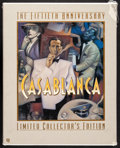 """Movie Posters:Academy Award Winners, Casablanca & Other Lot (MGM/UA Home Video, R-1992). Near Mint. Sealed Limited Edition 50th Anniversary VHS Boxset (10.5"""" X 1... (Total: 2 Items)"""