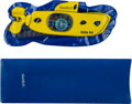 Music Memorabilia:Memorabilia, The Beatles Yellow Submarine Swatch Swiss Made Scuba Watch in Inflatable package (1998)....