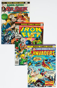 Bronze and Modern Age Comics Box Lot (Various Publishers, 1970s-80s) Condition: Average FN