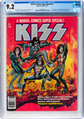 Magazines:Miscellaneous, Marvel Comics Super Special #1 KISS (Marvel, 1977) CGC NM- 9.2 White pages....