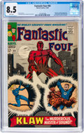 Silver Age (1956-1969):Superhero, Fantastic Four #56 (Marvel, 1966) CGC VF+ 8.5 White pages....