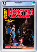 Magazines:Horror, Monsters Unleashed #10 (Marvel, 1975) CGC NM+ 9.6 White pages....