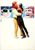 Movie Posters:Drama, Two for the Road by Enzo Nistri (20th Century Fox, 1967). Fine/Very Fine. Signed Original Gouache Poster Artwork on Illustra...