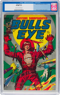 Bulls-Eye #3 (Mainline Publications, 1954) CGC VF/NM 9.0 Cream to off-white pages