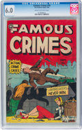 Golden Age (1938-1955):Crime, Famous Crimes #19 (Fox Features Syndicate, 1950) CGC FN 6.0 Cream to off-white pages....