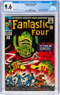 Silver Age (1956-1969):Superhero, Fantastic Four #49 (Marvel, 1966) CGC NM+ 9.6 Off-white to white pages....