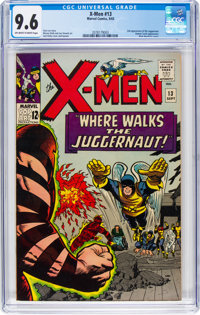 X-Men #13 (Marvel, 1965) CGC NM+ 9.6 Off-white to white pages