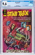 Bronze Age (1970-1979):Science Fiction, Star Trek #19 (Gold Key, 1973) CGC NM+ 9.6 White pages....
