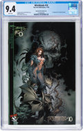 Modern Age (1980-Present):Superhero, Witchblade #10 (Darkness #0 Variant Cover) (Image, 1996) CGC NM 9.4 White pages....