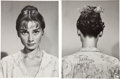 Movie/TV Memorabilia:Photos, Audrey Hepburn Personally Owned Pair of Test Photos From War and Peace. ...