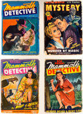 Pulps:Detective, Mammoth Pulps Box Lot (Ziff-Davis, 1942-48) Condition: Average GD+....