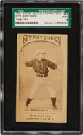 Baseball Cards:Singles (Pre-1930), 1887 N175 Type 2 Gypsy Queen John Ward (Pose #478-5) SGC 50 VG/EX 4 - Only Two Graded Examples! ...