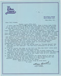 Movie/TV Memorabilia:Autographs and Signed Items, Stan Laurel Signed Letter Using Full Name. ...