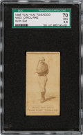 Baseball Cards:Singles (Pre-1930), 1888 N403 Yum Yum Jim O'Rourke (With Bat) SGC 70 EX+ 5.5 - One of Only Two Graded Examples! ...