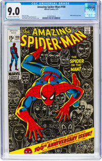 The Amazing Spider-Man #100 (Marvel, 1971) CGC VF/NM 9.0 Off-white to white pages