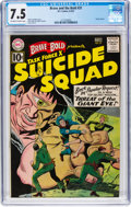 Silver Age (1956-1969):Adventure, The Brave and the Bold #37 Suicide Squad (DC, 1961) CGC VF- 7.5 Off-white to white pages....