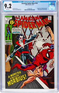 The Amazing Spider-Man #101 (Marvel, 1971) CGC NM- 9.2 White pages