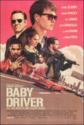 "Movie Posters:Action, Baby Driver (Tri-Star, 2017). Rolled, Very Fine/Near Mint. One Sheet (27"" X 40"") DS Advance. Rory Kurtz Artwork. Action.. ..."
