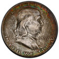 Franklin Half Dollars, 1952-S 50C MS67 PCGS. CAC. PCGS Population: (36/0 and 5/0+). NGC Census: (17/0 and 2/0+). MS67. Mintage 5,526,000. ...