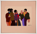 Music Memorabilia:Memorabilia, The Beatles Yellow Submarine Animation Cel Number 68/327 Matted and Framed. ...