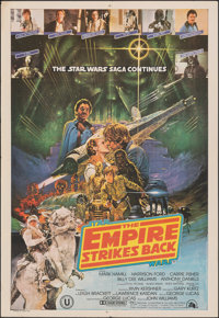 """The Empire Strikes Back (20th Century Fox, 1980). Folded, Very Fine-. Indian One Sheet (27.5"""" X 40""""). Science..."""