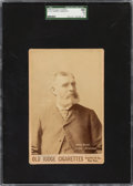 Baseball Cards:Singles (Pre-1930), 1888-89 N173 Old Judge Cabinet Harry Wright SGC 60 EX 5. ...