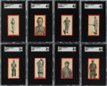 Baseball Cards:Sets, 1910 T210 Old Mill Texas League (Series 3) Partial Set (65/95). ...