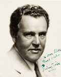 Movie/TV Memorabilia:Autographs and Signed Items, [Charlie Chan] Sidney Toler Signed Vintage Photo. ...
