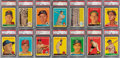 Baseball Cards:Lots, 1958 Topps Baseball (Low Numbers) PSA NM-MT 8 Graded Collection (90). ...