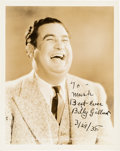 Movie/TV Memorabilia:Autographs and Signed Items, Billy Gilbert Signed Original MGM Hal Roach Portrait Photo. ...
