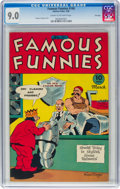 Golden Age (1938-1955):Humor, Famous Funnies #140 File Copy (Eastern Color, 1946) CGC VF/NM 9.0 Cream to off-white pages....