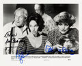Movie/TV Memorabilia:Autographs and Signed Items, Twilight Zone - The Movie Still Signed by Kevin McCarthy, Kathleen Quinlan, William Schallert, and Patricia Barry. ...