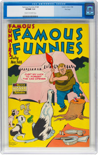 Famous Funnies #168 File Copy (Eastern Color, 1948) CGC VF/NM 9.0 Cream to off-white pages
