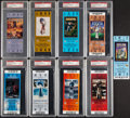 Football Collectibles:Tickets, 2000s Super Bowl Full Tickets, Lot of 9.... (Total: 9 items)