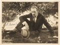 Movie/TV Memorabilia:Autographs and Signed Items, H. B. Warner Signed Vintage Photo. ...