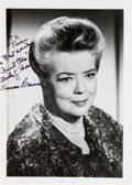 """Movie/TV Memorabilia:Autographs and Signed Items, [Andy Griffith Show] Frances Bavier Signed """"Aunt Bea"""" Photo. ..."""