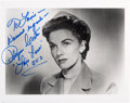 "Movie/TV Memorabilia:Autographs and Signed Items, [Adventures of Superman] Phyllis Coates Signed ""Lois Lane"" Photo. ..."
