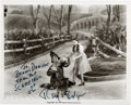 Movie/TV Memorabilia:Autographs and Signed Items, [Wizard of Oz] Ray Bolger Signed Film Scene Photo. ...