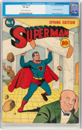 Golden Age (1938-1955):Superhero, Superman #4 (DC, 1940) CGC VF 8.0 Cream to off-white pages....