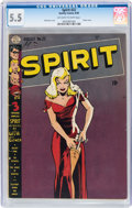 Golden Age (1938-1955):Superhero, The Spirit #22 (Quality, 1950) CGC FN- 5.5 Off-white to white pages....