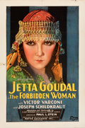 """Movie Posters:Drama, The Forbidden Woman (Pathé, 1927). Folded, Fine/Very Fine. One Sheet (27"""" X 41"""") Style B. . ..."""