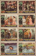 """Movie Posters:Horror, Attack of the Giant Leeches (American International, 1959). Very Fine-. Lobby Card Set of 8 (11"""" X 14"""") Alternate Title: T... (Total: 8 Items)"""