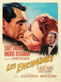 """Movie Posters:Hitchcock, Notorious (MGM, R-1958). Very Fine- on Linen. French Grande (47.5"""" X 63"""") Roger Soubie Artwork.. ..."""
