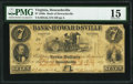 Obsoletes By State:Virginia, Howardsville, VA- Bank of Howardsville $7 Dec. 1, 1859 G4a J-L BH25-25 PMG Choice Fine 15.. ...