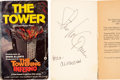 Movie/TV Memorabilia:Autographs and Signed Items, Steve McQueen and Ali MacGraw Signed Copy of The Tower....