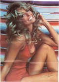 """Movie/TV Memorabilia:Posters, Farrah Fawcett """"The Poster"""" from Her Personal Collection...."""